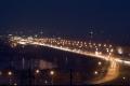 Ночной Новосибирск, Димитровский мост